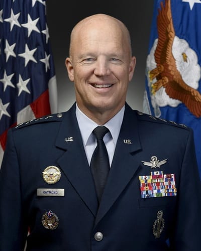 General John Raymond, Commander, Air Force Space Command and